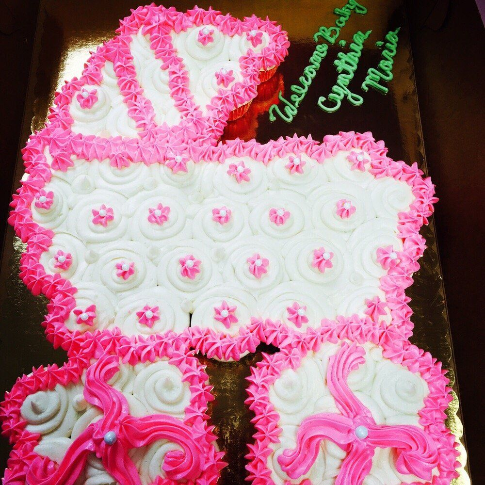 Pull Apart Cupcakes For Baby Shower   Google Search