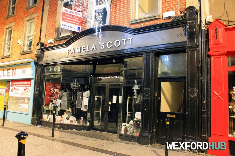 The Pamela Scott store on Wexford Town's North Main Street.