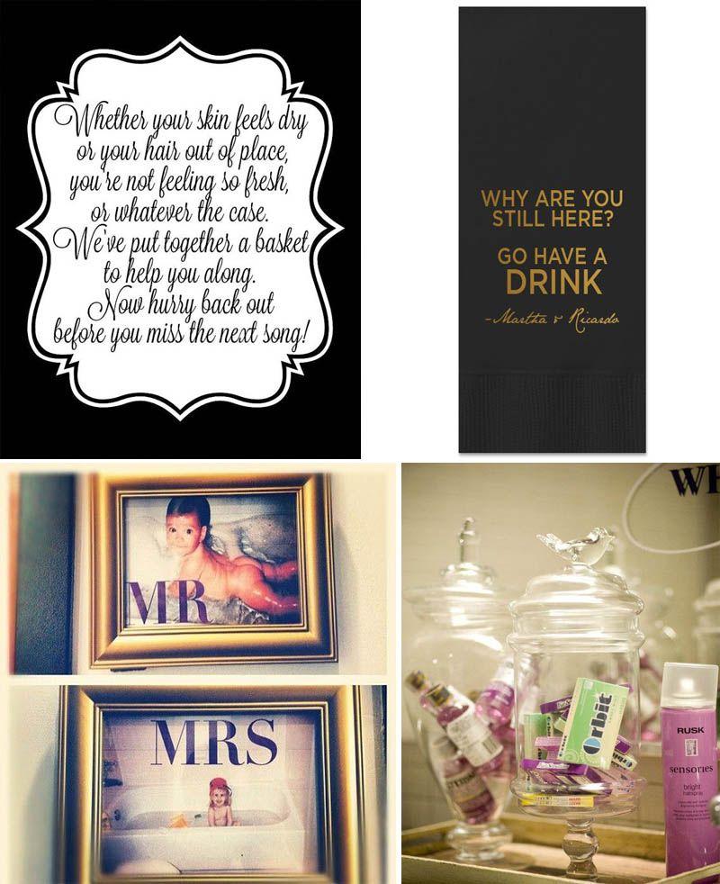 wedding bathroom must haves comfort baskets more yes baby rh pinterest com