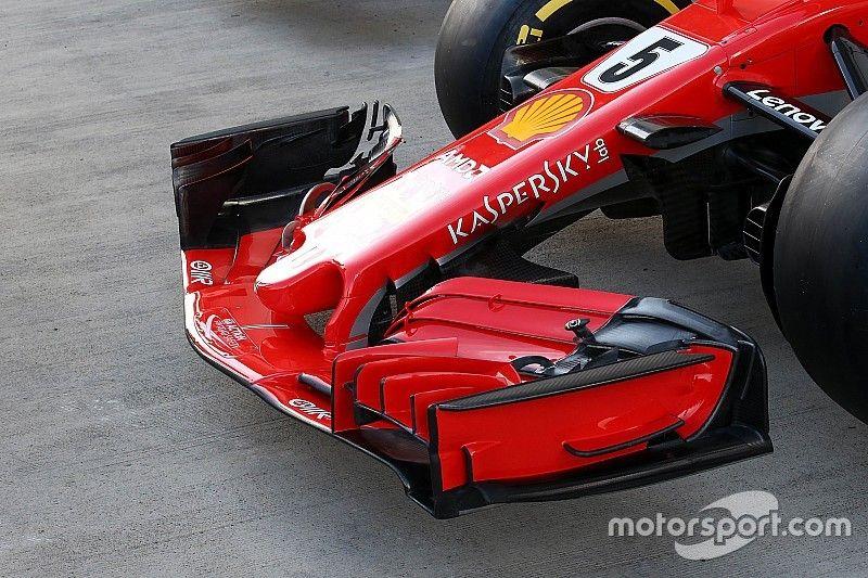 Analyse: Ferrari mit großem Update-Paket nach Russland, Frontflügel-Kopie von RB14