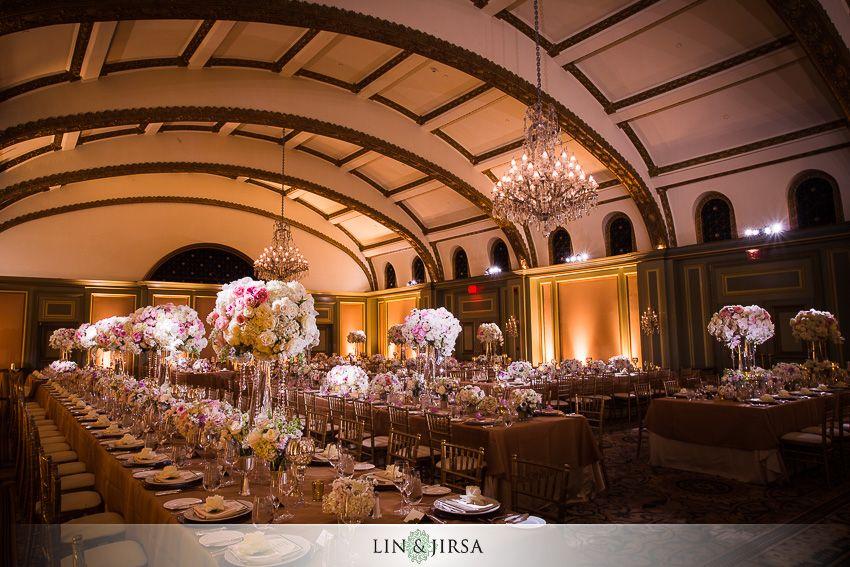 Langham Hotel Pasadena Wedding Kosta Stephanie