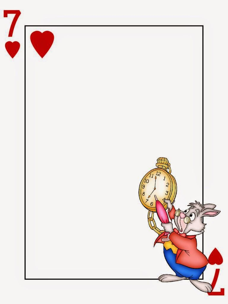 free alice in wonderland printable notebook  this one like a frame
