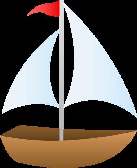 Free Clip Art Of A Cute Small Sailboat Sailboat Drawing Boat Drawing Sailboat