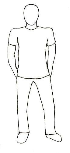 How To Draw A Human Figure Step 5 Human Figure Drawing Human Figure Figure Drawing