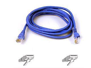 CAT5e patch cable RJ45M-M 15 ft blue