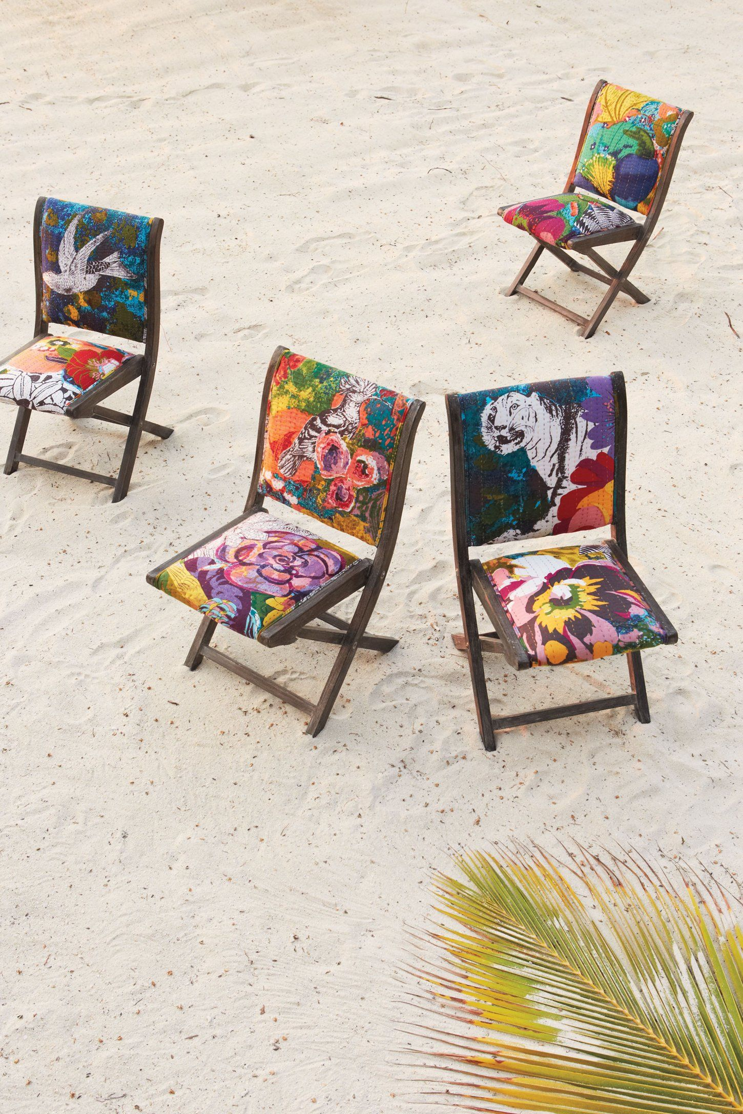 Wonderful Overdyed Terai Folding Chair   Anthropologie.com
