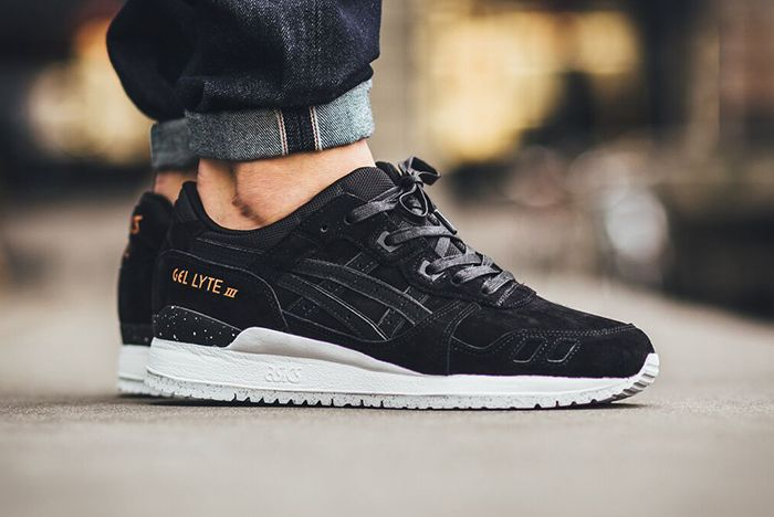 bfd7b0586a9a Asics Gel Lyte III Black Gold ----   The Yin to a  Slight White  Yang