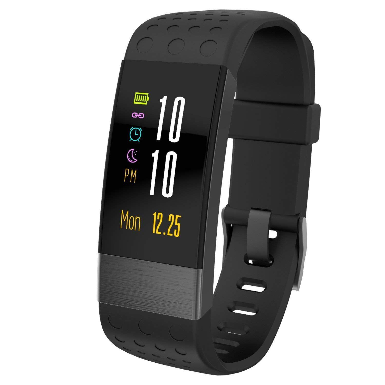 Fizili Fitness Tracker Bracelet Intelligent Tracker D Activité Avec Moniteur De Fréquence Cardiaq Compteur De Calories Bracelet Intelligent Fréquence Cardiaque