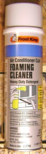 Frost King - Foaming Air Conditioning Coil Cleaner