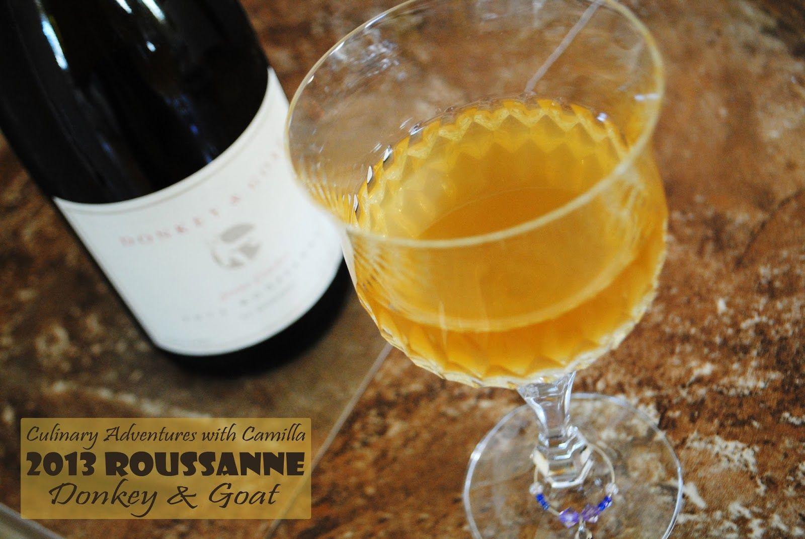 Putting Down Roots Wine Pairing: Donkey & Goat 2013 Roussanne