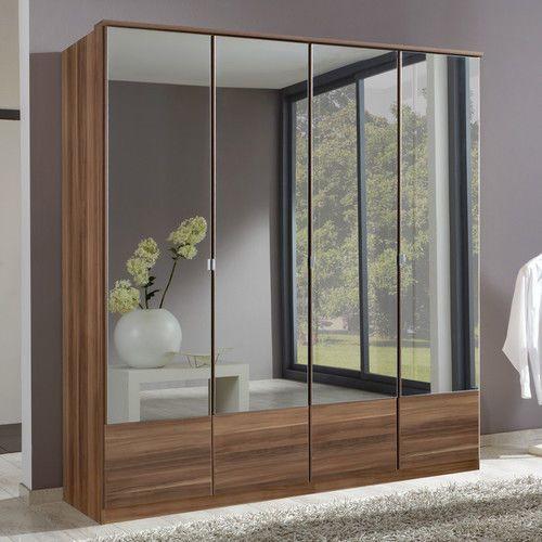 Wimex Imago 4 Door Mirrored Wardrobe Home Ideas 4 Door Wardrobe