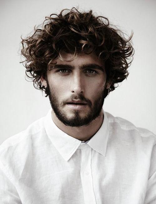 Cortes de pelo y peinados para hombres con cabello - Peinados para hombres ...