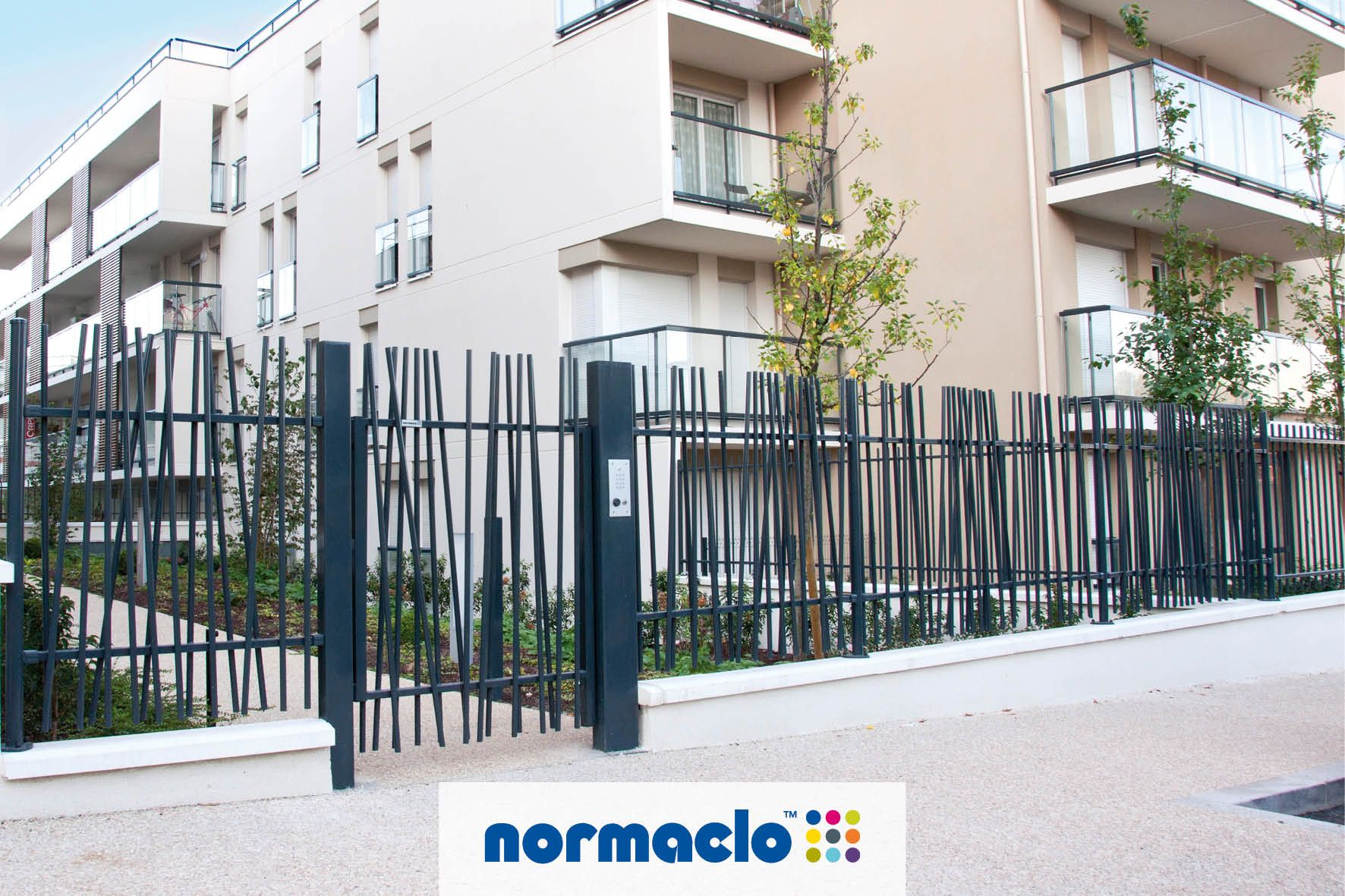 Portillon oobamboo de normaclo ideas pinterest for Cierre jardin