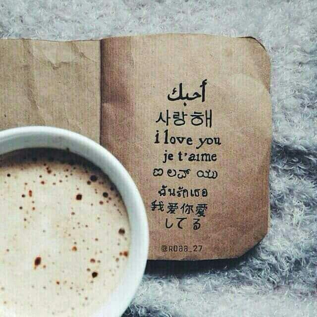 ا حبك بكل لغات العالم Glassware My Love Mugs