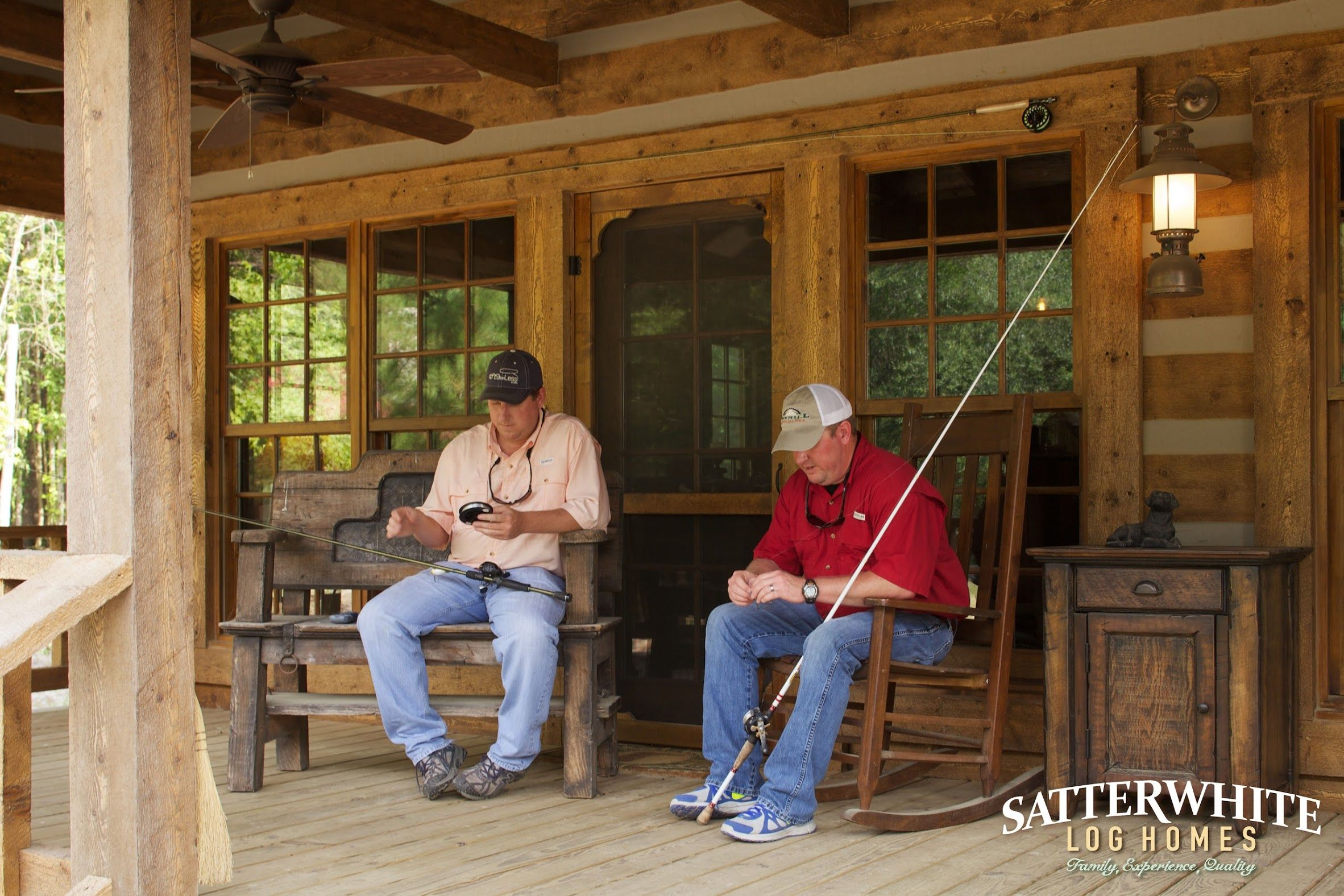 Photo in Satterwhite Log Homes - Hunting & Fishing Cabin - Google Photos