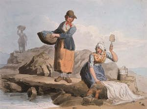 18th Century Washerwoman Google Search 18th Century Paintings 18th Century Sketches