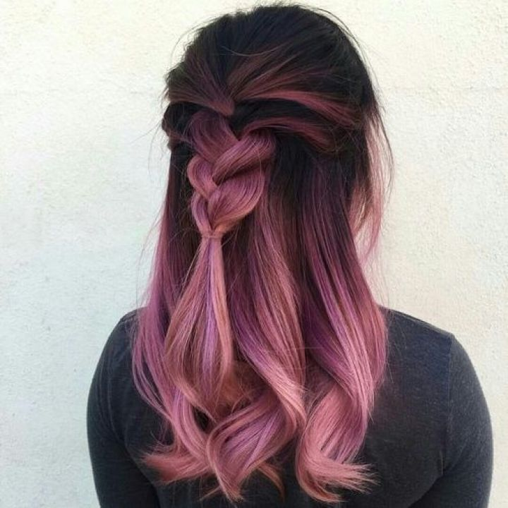 Best 25 Pink And Black Hair Ideas On Pinterest Ombre Hair Color With Regard To Dark Brown Hair With Pink Highlights Hair Styles Neon Hair Hair Color Pastel
