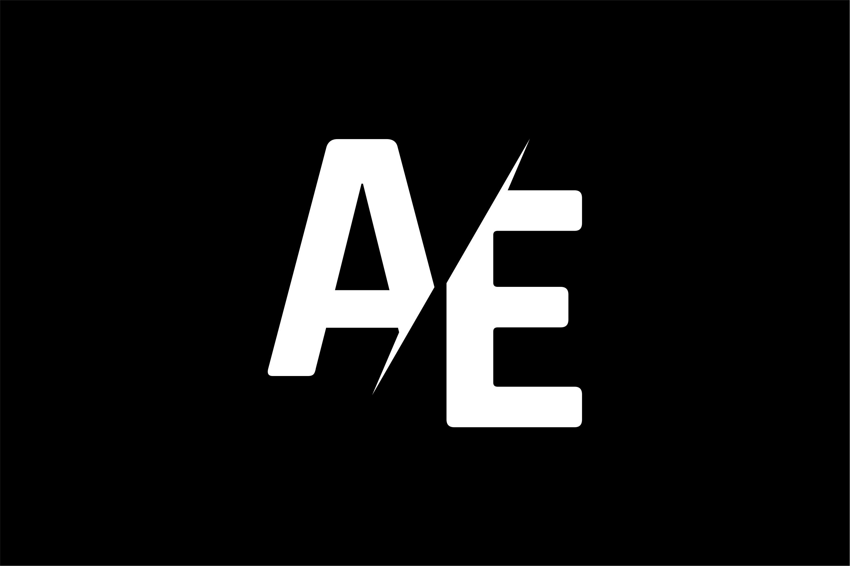 Monogram Ae Logo Design Logos Design Lettering Design Logos