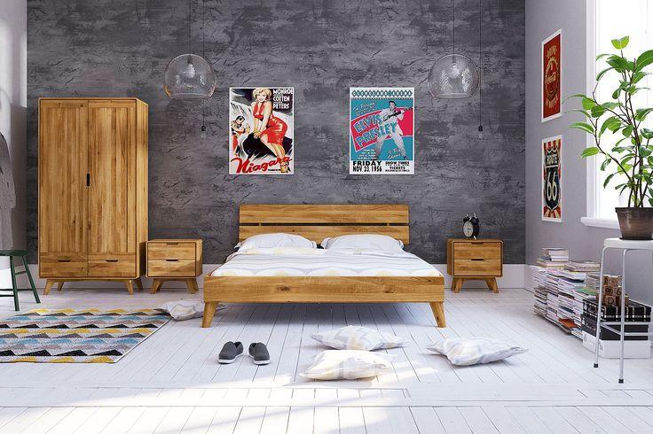 Schlafzimmermöbel der Serie MALMÖ aus europäischem