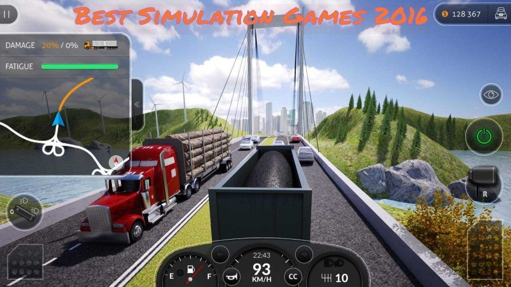Most popular simulation games