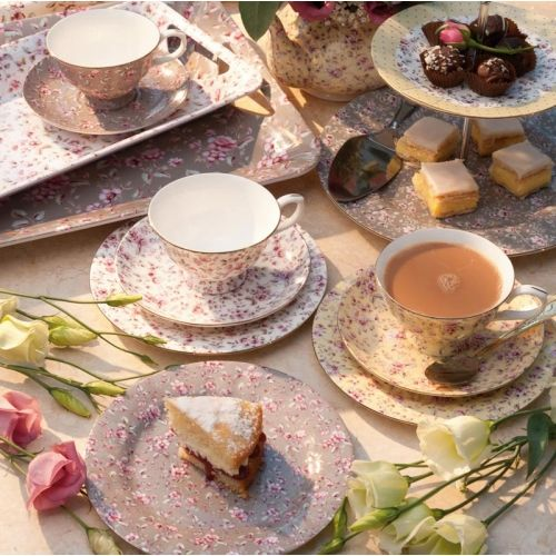 Katie Alice  Ditsy White Floral  Fine Bone China Afternoon Tea Set ... 2885a488a1d