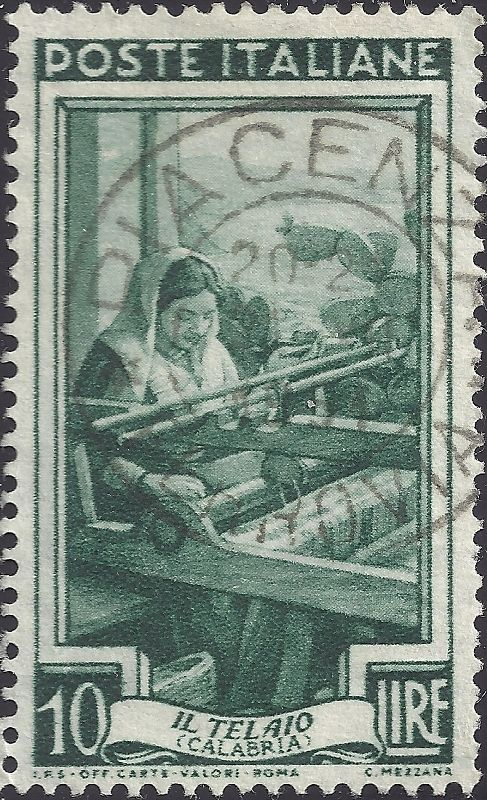 Italy, issued on 20 October 1950