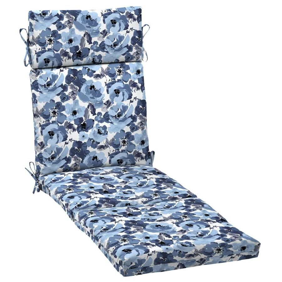 Arden Selections 72-in X 21-in Outdoor Chaise Cushion