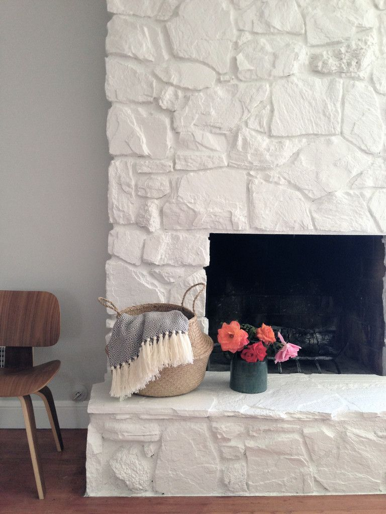Blog Painted Stone Fireplace Painted Rock Fireplaces Stone