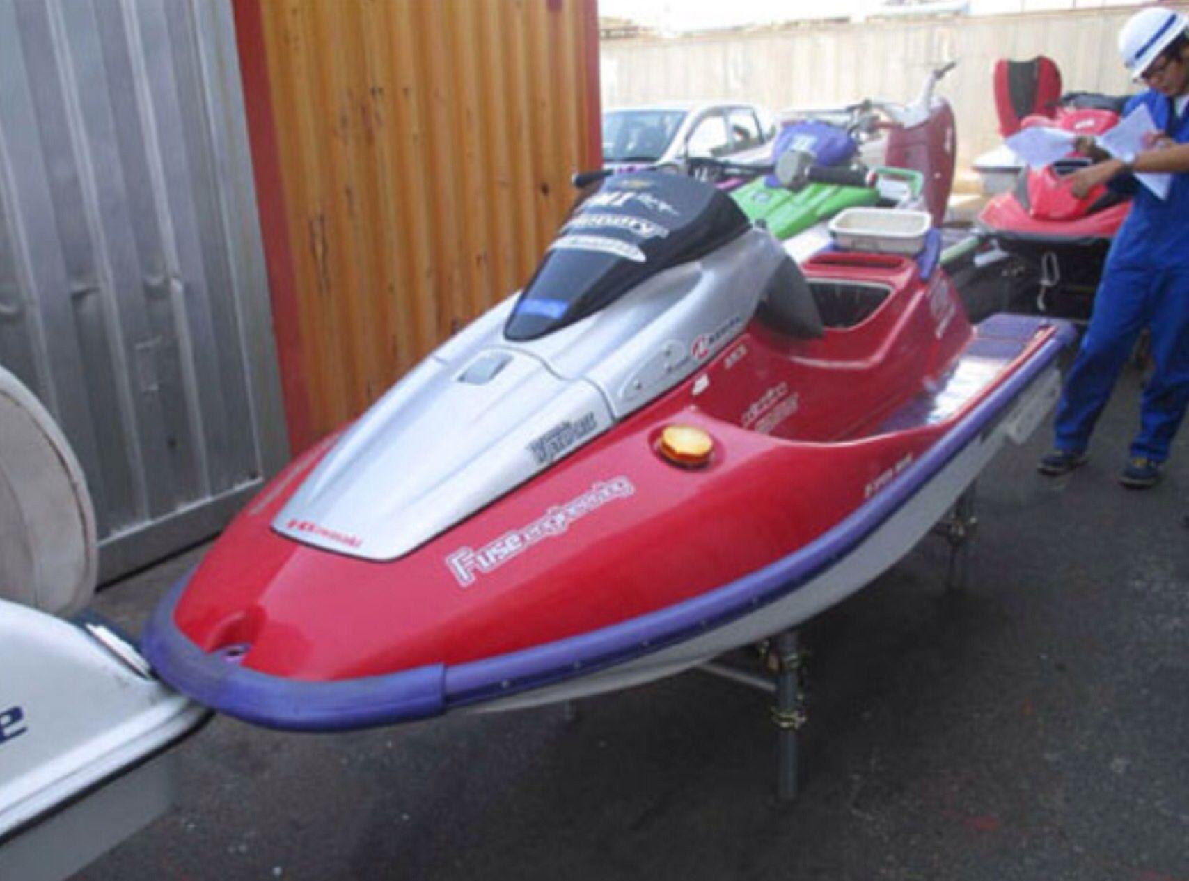 Clearance Of Japanese Jet Ski Kawasaki Zx1100 Red Mangalore Boats Ships Jet Ski Kawasaki Jet Ski Kawasaki