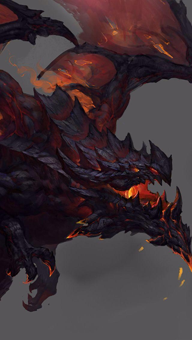 lava dragon wallpapers lava