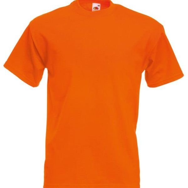 WOW ORANGE t shirt super cheap from Edunonline made from ORGANIC ...