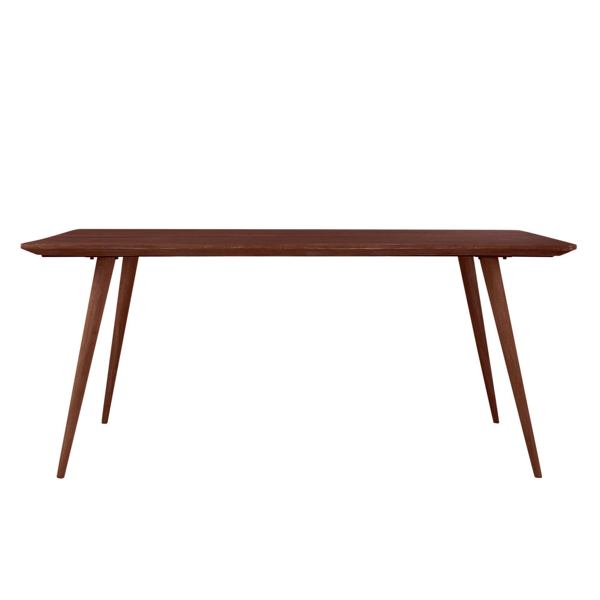 Mesa de comedor vintage de madera maciza de palo rosa An. 175 cm ...