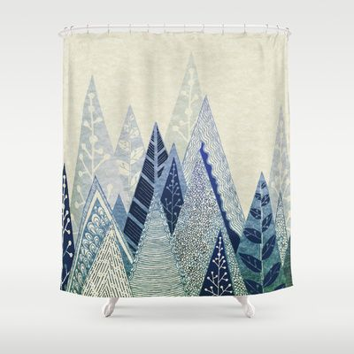 Snow Top Shower Curtain By Rskinner1122 68 00 Curtains