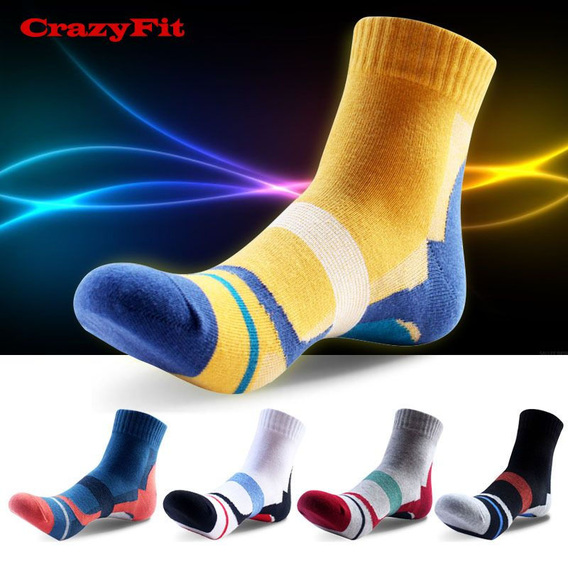 GlassesCrazy Socks Casual Cotton Crew Socks Cute Funny Sock Great For Sports And Hiking