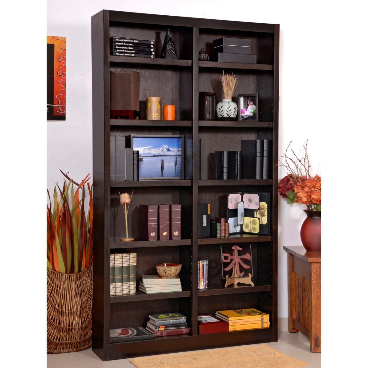 espresso depot the bookcase bookcases furinno open shelf jaya home p