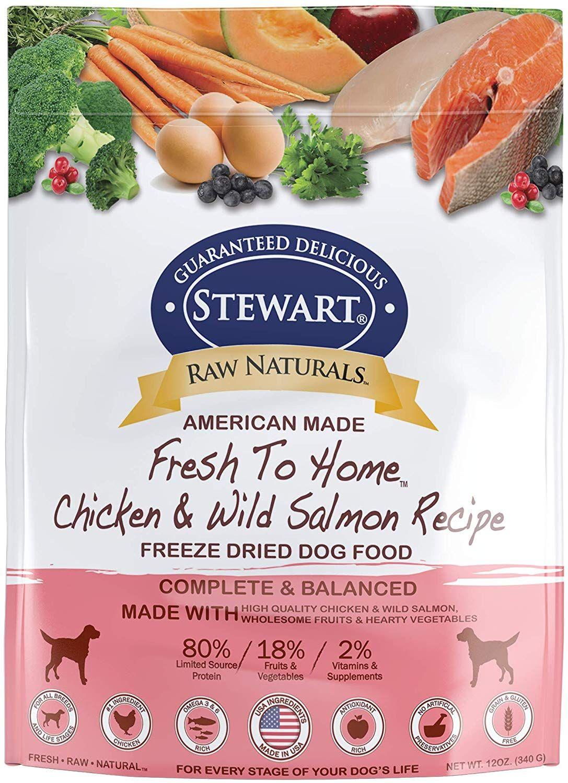 Stewart Raw Naturals Freeze Dried Dog Food Grain Free Made In Usa Freeze Dried Dog Food Dog Food Recipes Dry Dog Food