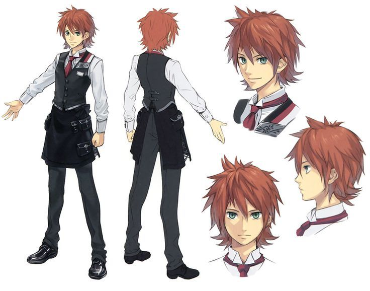 Anime Characters Boy : Anime boy character design google search