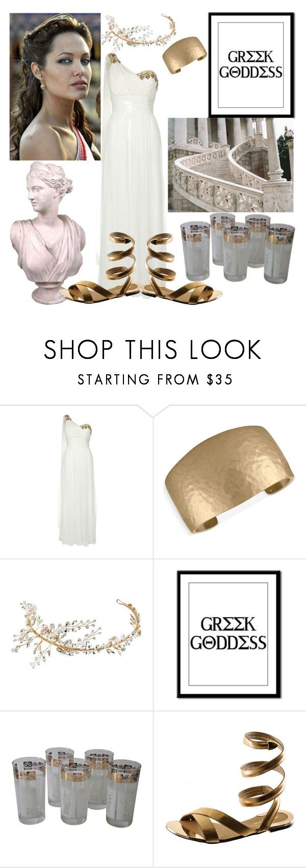 """Greek Godess"" by audreybrookezaring ❤ liked on Polyvore featuring Notte by Marchesa, Rachel Rachel Roy, Nina and Black"