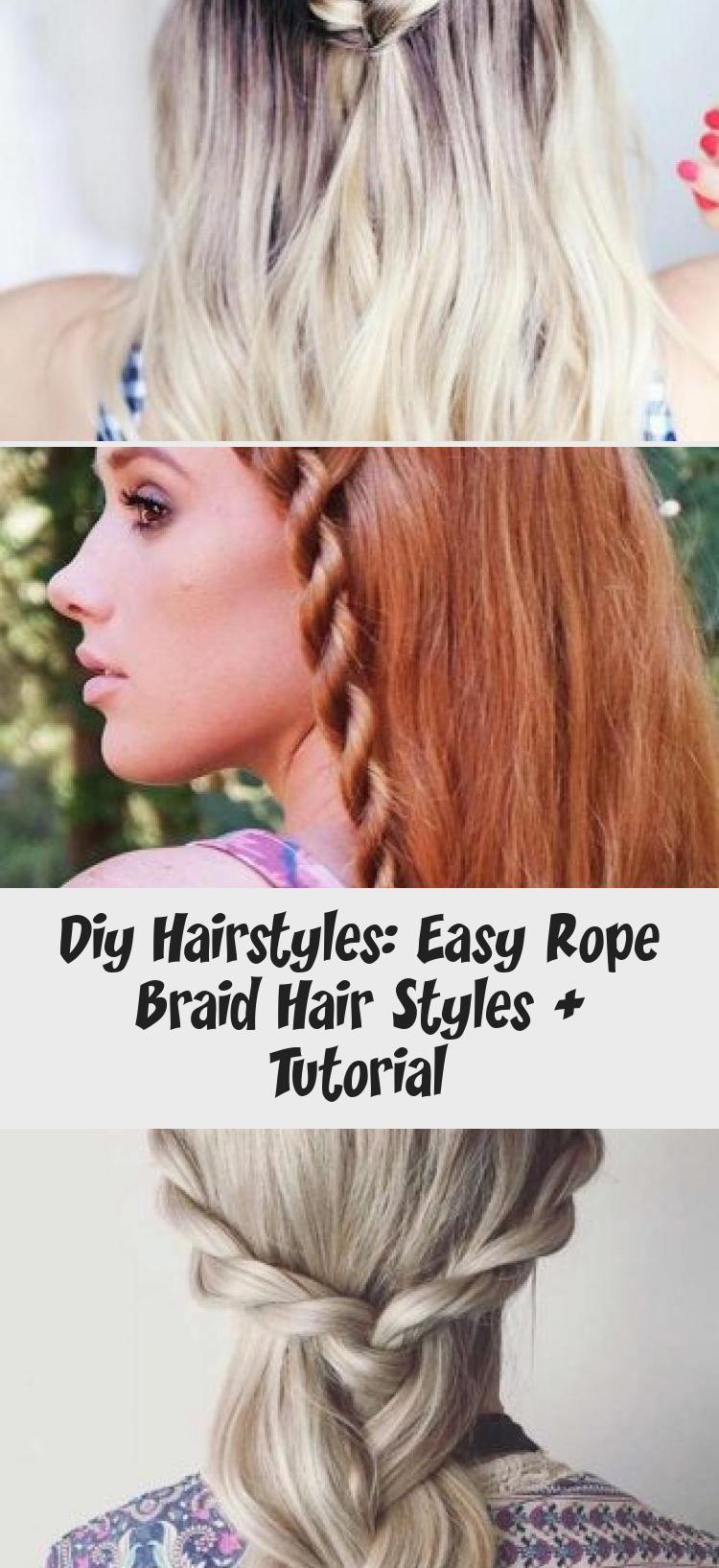 Hairtutorialstraight Curlyhairtutorial Hairtutorialafricanamerican Hairtutorialpainting Hairtutorialqu In 2020 Rope Braided Hairstyle Hair Tutorial Diy Hairstyles
