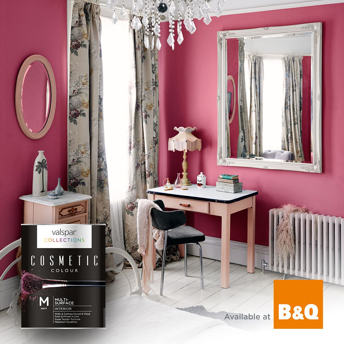 Inspired by the world of beauty, Cosmetic Colour from