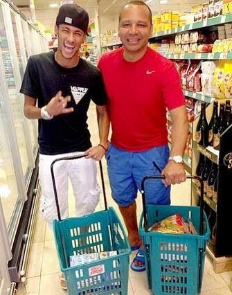 Neymar & his father Neymar Sr.