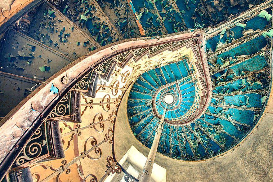 Estas escaleras no te llevan al cielo pero son geniales