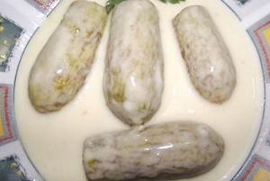 طريقة عمل الكوسا باللبن او شيخ المحشي طريقة Recipe Egyptian Food Ramadan Recipes Arabian Food