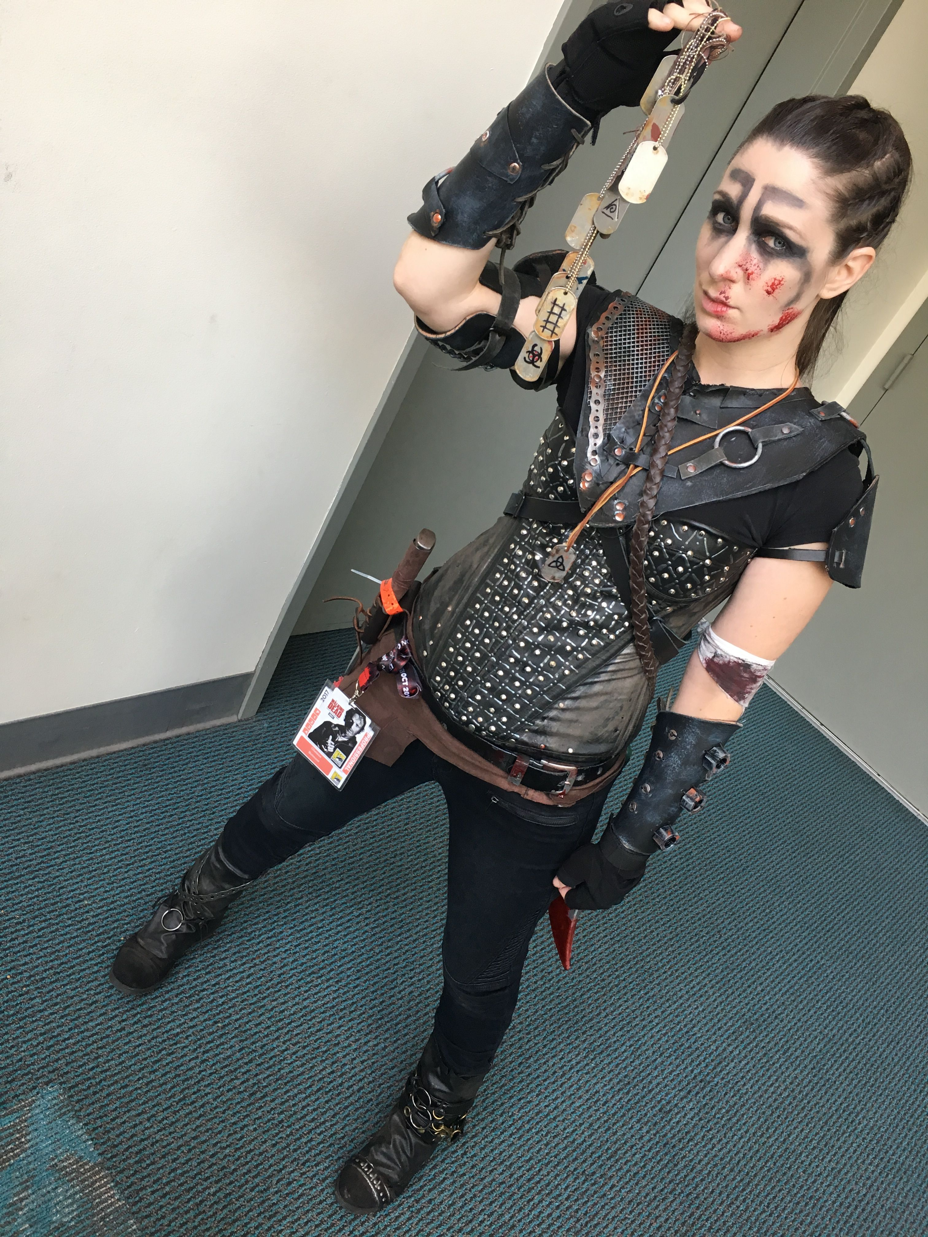 The 100 Octavia Blake Cosplay at SDCC17 Warrior woman