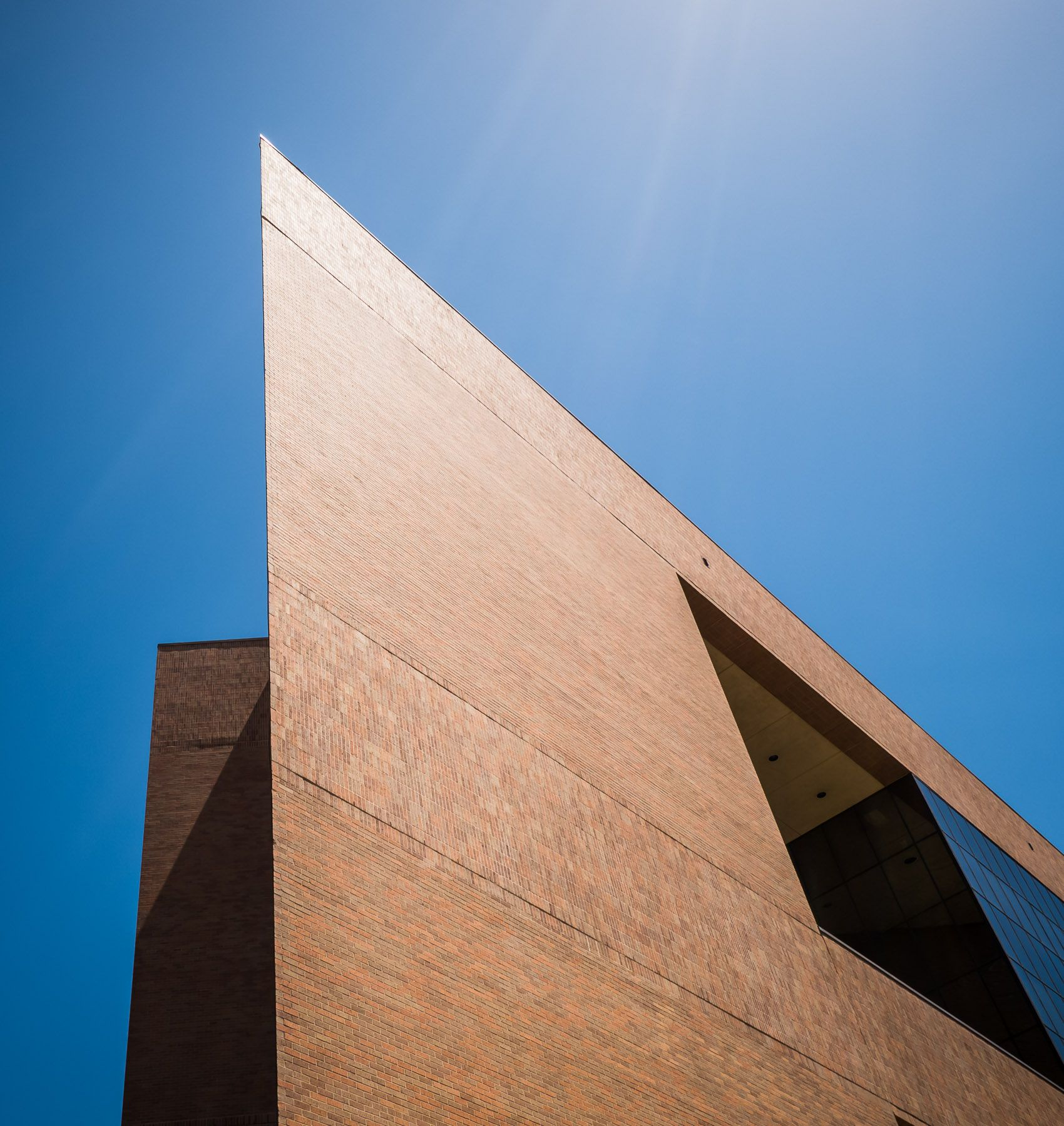 Architectural Detail Of The University Of Texas At Arlingtonu0027s Pickard Hall  #architecture #dfw See