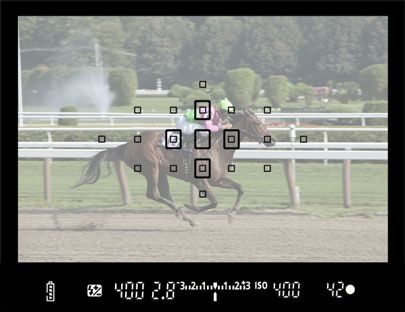 Mastering AF modes for the Canon 7D.