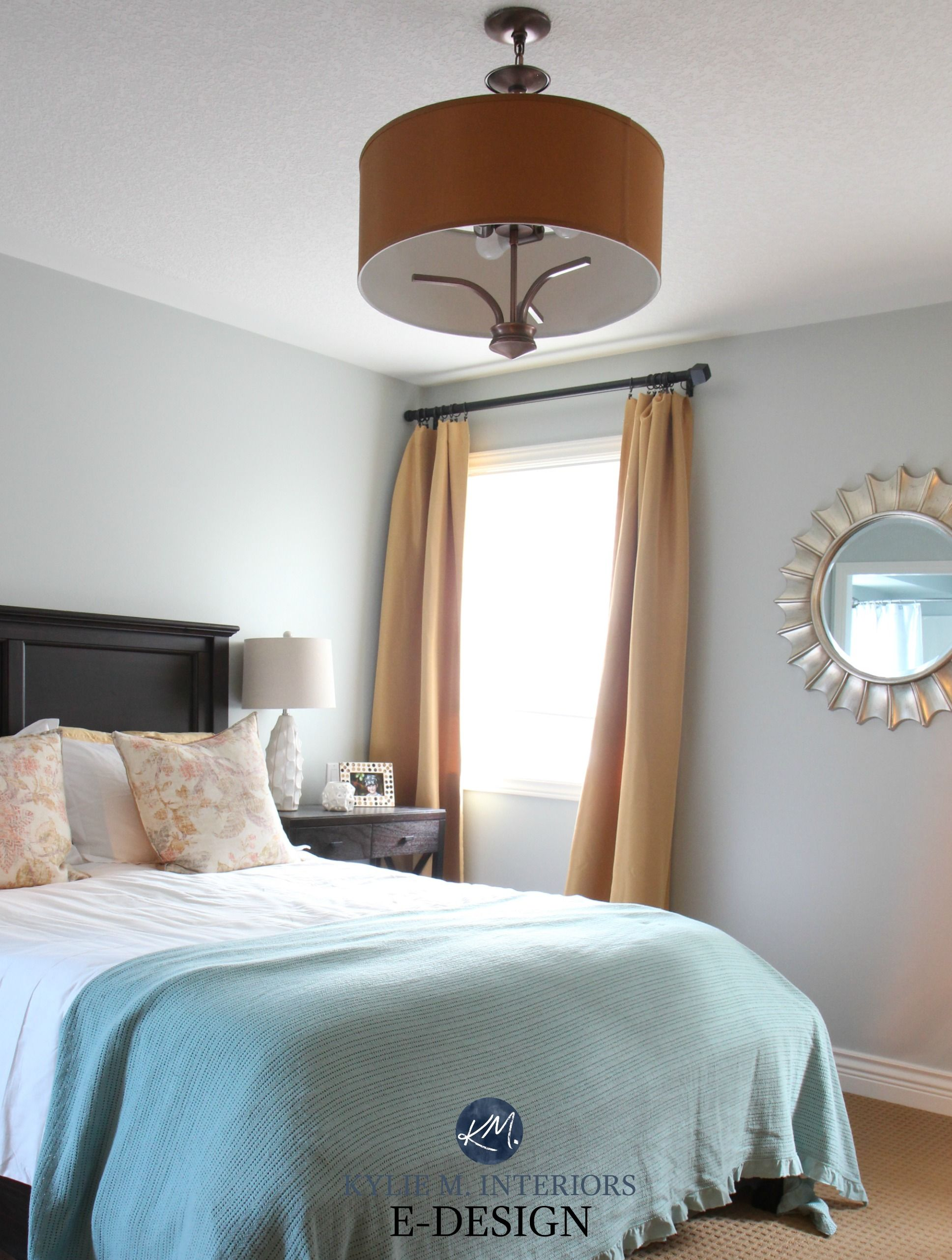Colour Review Sherwin Williams Silver Strand Sw 7057 Sherwin Williams Silver Strand Blue And Gold Bedroom Sherwin Williams Paint Colors
