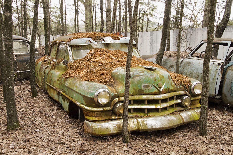 Worlds Largest Old Car Junkyard City USA