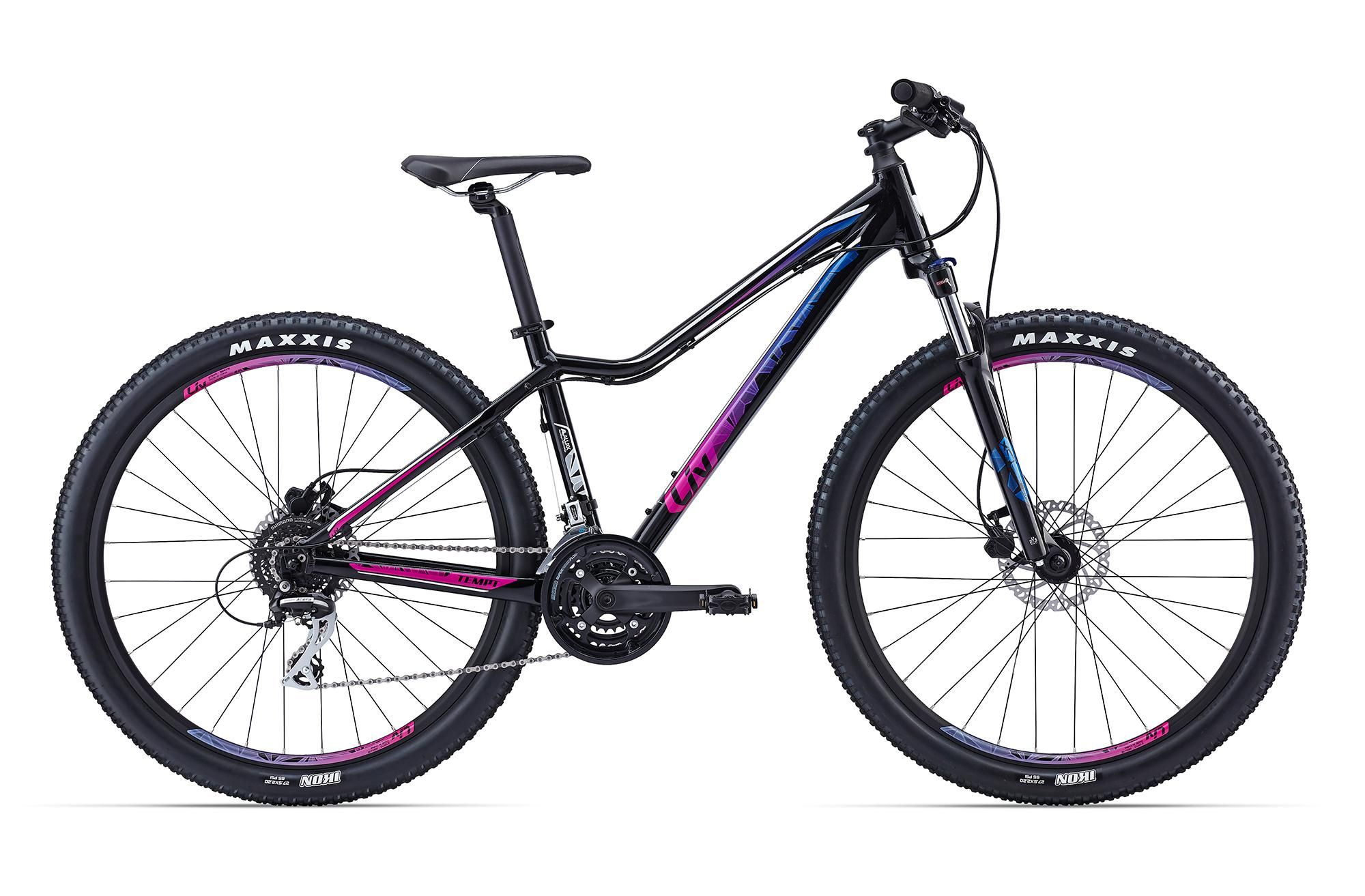 2016 Giant Liv Tempt 4 Womens Mountain Bike Black Pink Bicicletas