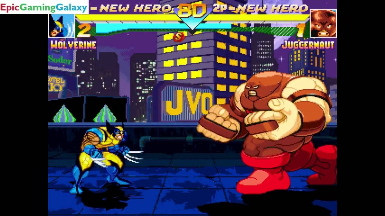 The Juggernaut VS Wolverine In A DC VS Marvel MUGEN Edition